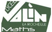 Mathématiques : le lycée Valin (La Rochelle) met en ligne des exercices interactifs.  Logovalin